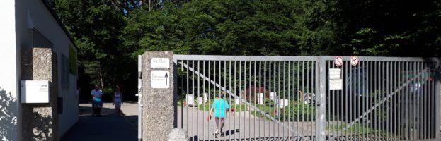 Einweihung des neuen Friedhofs der IKG Schwaben-Augsburg