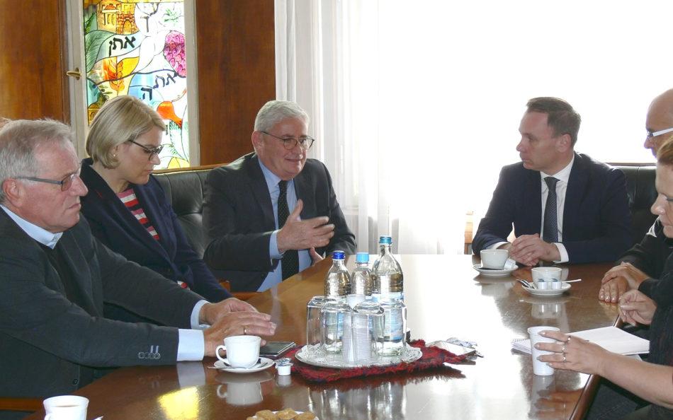Treffen in der IKG Schwaben-Augsburg