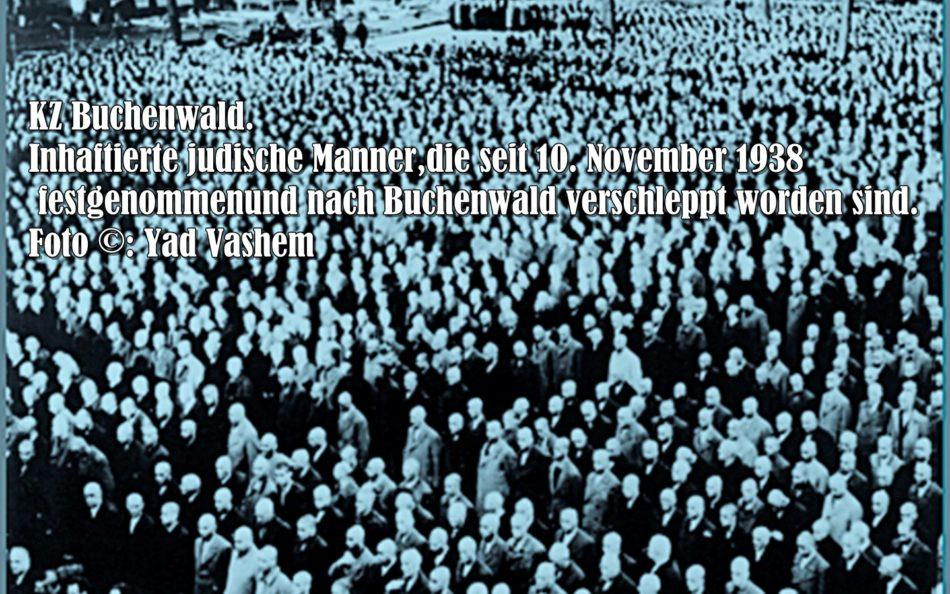 """Reichspogromnacht. """"Wir dürfen nicht schweigen""""."""