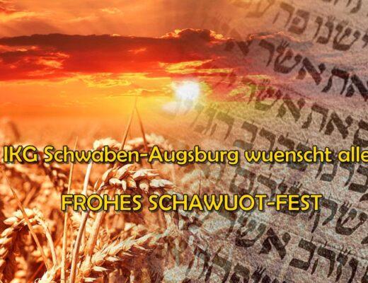 CHAG SCHAWUOT SAMEACH!